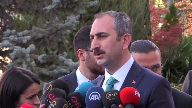 Turkish justice minister on October 28 2017 denied media reports that the release of the Buyukada terror suspects was part of any negotiations...