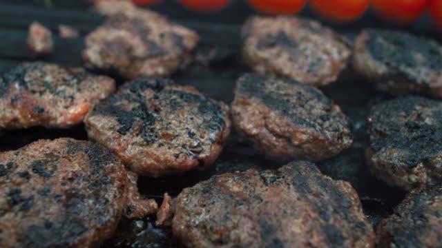 turkish meatballs - meatballs stock videos & royalty-free footage