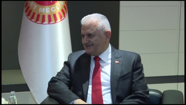 turkish parliament speaker binali yildirim meets with his hungarian counterpart laszlo kover on the sidelines of the 8th plenary session of... - traditionally hungarian stock videos & royalty-free footage