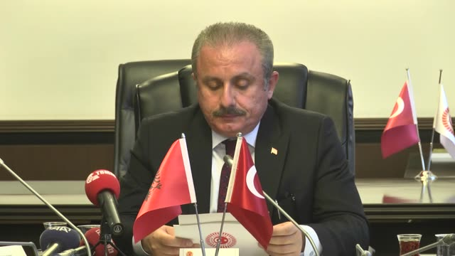 Turkish parliament's Deputy Speaker Mustafa Sentop called on Albania to recognize PKKaffiliated PYD and YPG as terror groups 'It deeply upsets us...