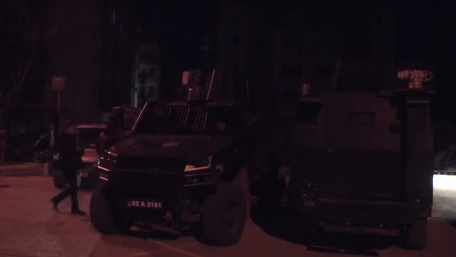 turkish police detained nearly 450 suspects linked to the daesh terrorist group in early-morning raids across turkey on sunday, security sources... - detainee stock videos & royalty-free footage