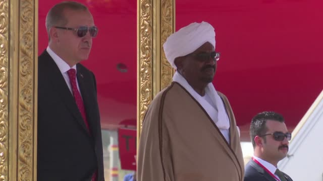 Turkish President Recep Tayip Erdogan arrived Sunday in the Sudanese capital Khartoum for a visit meeting with his Sudanese counterpart Omar alBashir