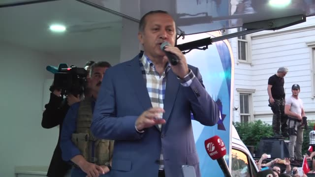 turkish president recep tayyip erdogan delivers a speech following parallel state/gulenist terrorist organizations failed coup attempt at his... - 2016 stock videos & royalty-free footage
