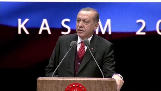 turkish president recep tayyip erdogan has warned against the approach of using the nation's symbol of independence gazi mustafa kemal to meet... - modern period stock videos and b-roll footage