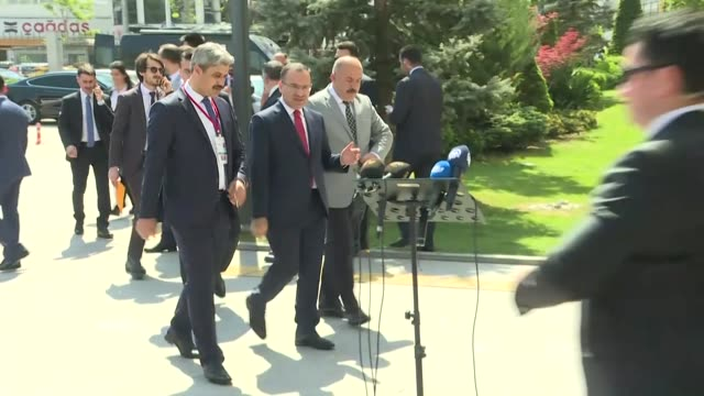 turkish president recep tayyip erdogan on april 27 2018 criticized the main opposition republican people's party for moving its 15 lawmakers to... - dictator stock videos & royalty-free footage