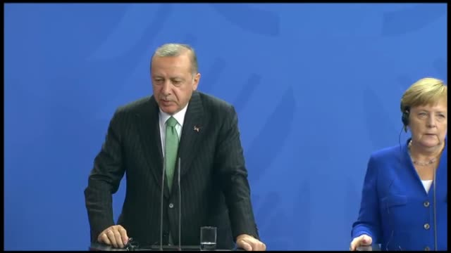 "turkish president recep tayyip erdogan on friday recalled an extradition agreement between turkey and germany and called fugitive can dundar ""a... - 14 15 years stock videos & royalty-free footage"