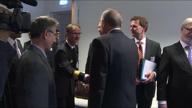 Turkish President Recep Tayyip Erdogan on Wednesday held talks with German Chancellor Angela Merkel on the sidelines of the twoday NATO summit in...