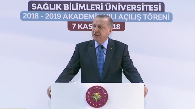 turkish president recep tayyip erdogan said wednesday domestic production in the health sector is as important as in the defense sector turkey needs... - human joint stock videos & royalty-free footage