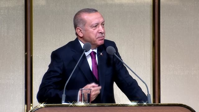 turkish president recep tayyip erdogan said wednesday that those who praise the 2013 gezi park protests are supporters of terror groups like pkk and... - recep tayyip erdoğan stock videos & royalty-free footage