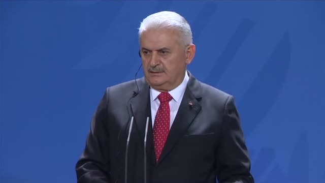 Turkish Prime Minister Binali Yildirim and German Chancellor Angela Merkel vowed on Thursday to improve strained ties between the two countries...