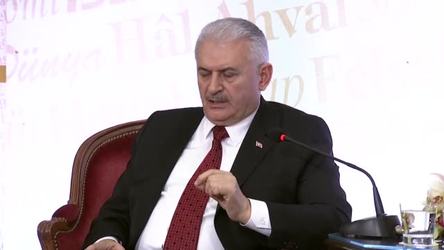 Turkish Prime Minister Binali Yildirim on Friday said Turkey will not 'overlook' crossborder rockets fired by PYD/PKK from SyriaSpeaking at a meeting...