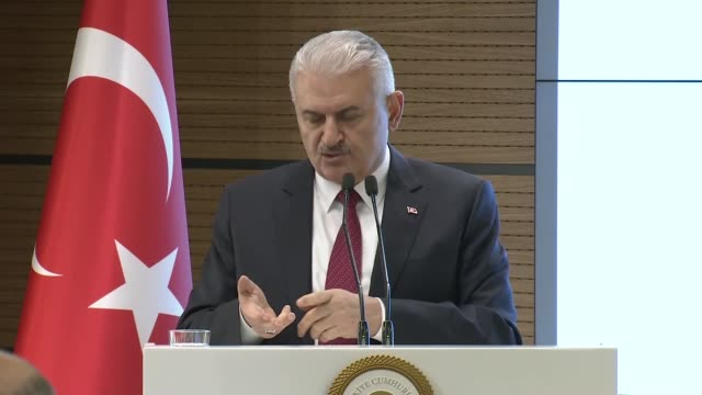 Turkish Prime Minister Binali Yildirim on Monday criticized the US' recently announced plan to form a border army led by the terrorist PKK/PYD in...