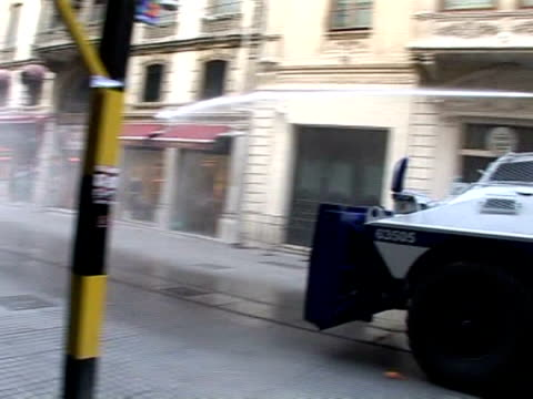 Turkish riot police used tear gas and water canons to break up a rally by 2000 antiIMF protestors in Istanbul on Tuesday and detained about 50 people...
