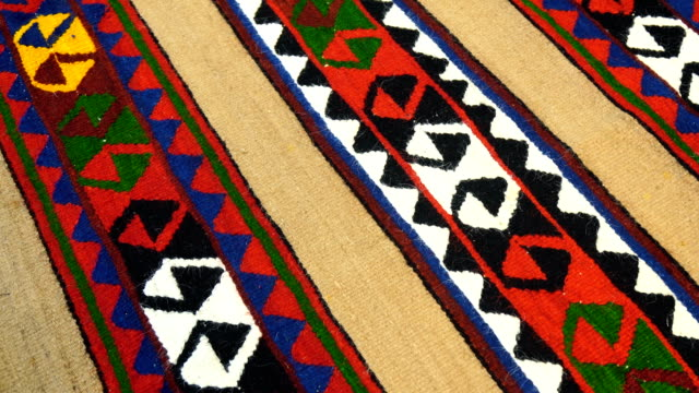 turkish rug - tapestry stock videos & royalty-free footage