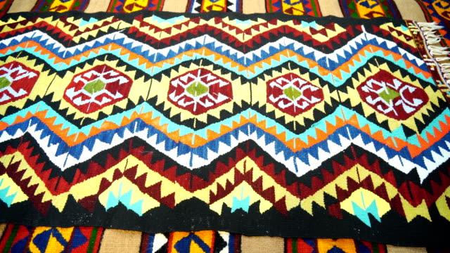 turkish rug - rug stock videos & royalty-free footage