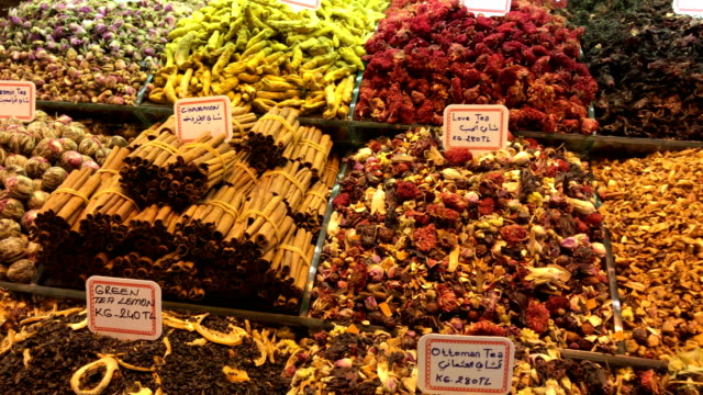 Turkish Spice Market at Misir Carsisi