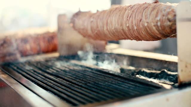 Turkish street food kokorech