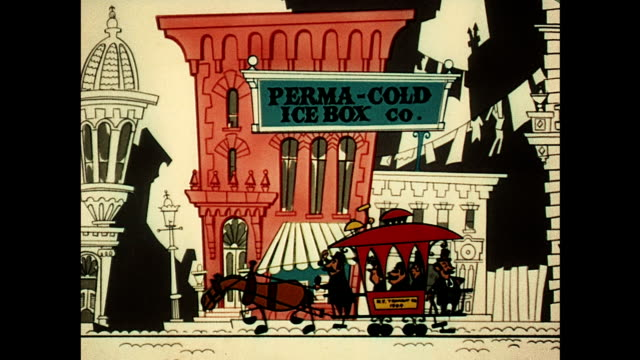turn of the century businesses - cartoon stock videos & royalty-free footage