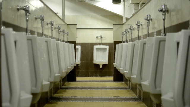 turn off-turn on the light in the toilet. - urinal stock videos & royalty-free footage