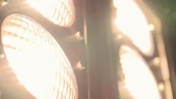 Turn on Light Bulb - Slow Motion