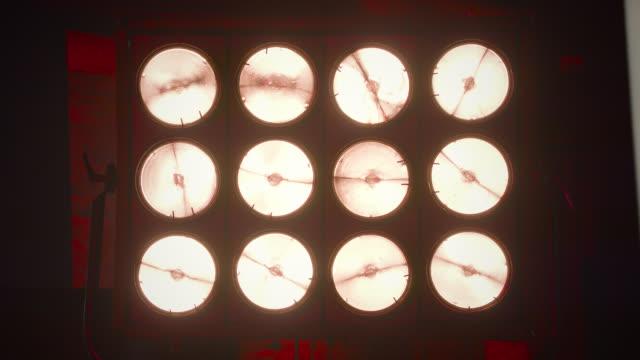 turn on light bulb - slow motion - film set stock videos & royalty-free footage