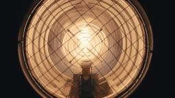Turn on Light Bulb - Super Slow Motion