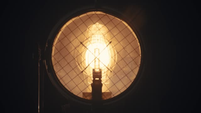 turn on light bulb - super slow motion - stage performance space stock videos & royalty-free footage