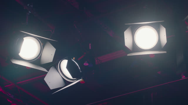 turn on studio light bulb - slow motion - strobe light stock videos & royalty-free footage