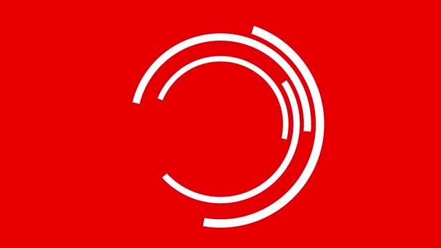 turning minimal circles logo or background with copy space stock video - suitable for vertical use - logo stock videos & royalty-free footage