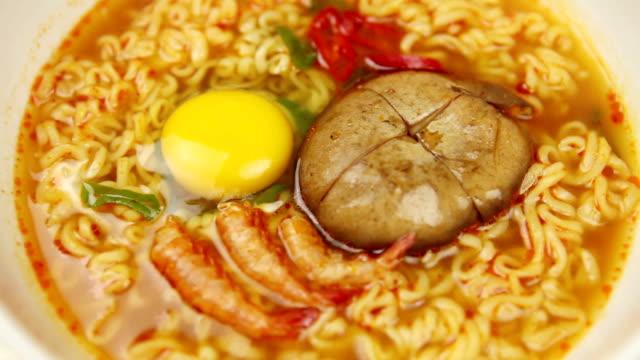 turning ramen - ramen noodles stock videos & royalty-free footage