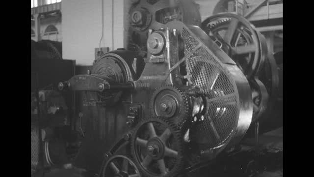turning toothed machine wheels / note: exact day not known - cog stock videos & royalty-free footage