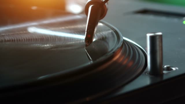 vidéos et rushes de platine vinyle - disque vinyle