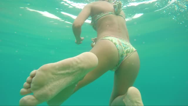 turquoise colored Ionian sea