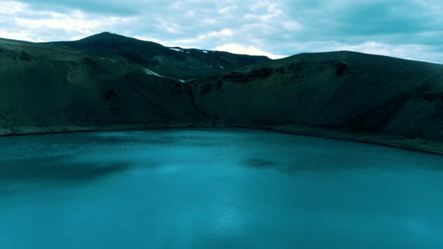 vídeos y material grabado en eventos de stock de lago turquesa - parque nacional crater lake