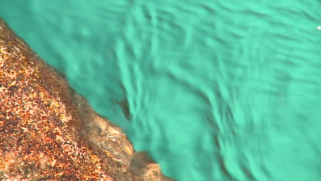 HD SLOW-MOTION: Turquoise river