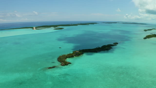 turquoise water and islands - atlantic islands stock videos & royalty-free footage