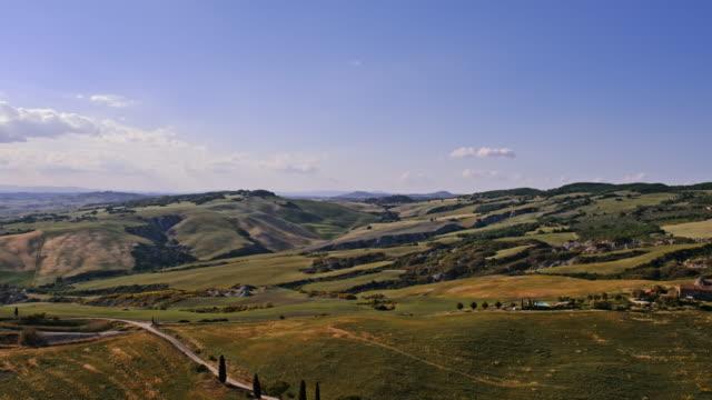 tuscany hills - hill video stock e b–roll