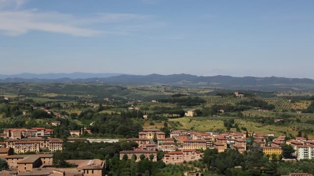 tuscany landscape - siena - siena italy stock videos and b-roll footage