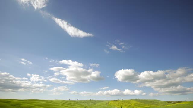 タイムラプストスカーナの風景