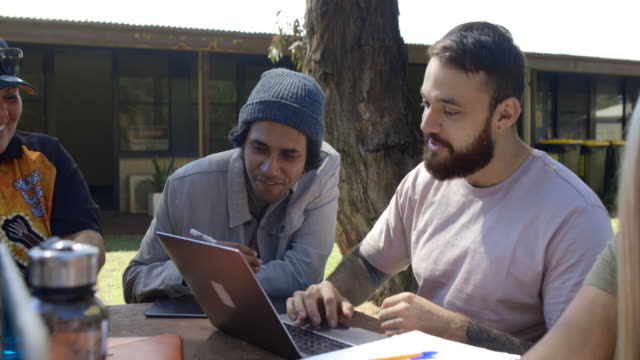 tutoring in the sun - cultures stock videos & royalty-free footage
