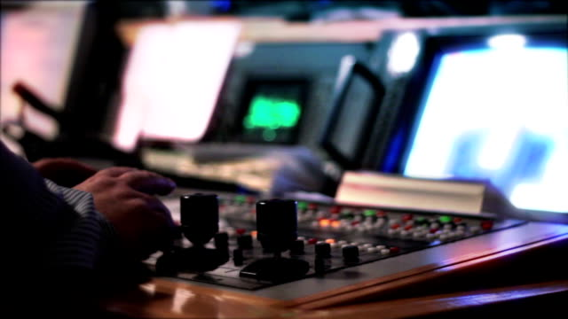 tv directing - broadcasting stock videos & royalty-free footage