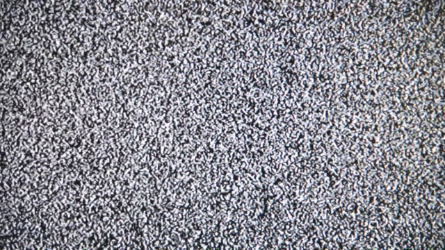 Tv-Lärm-Fehler