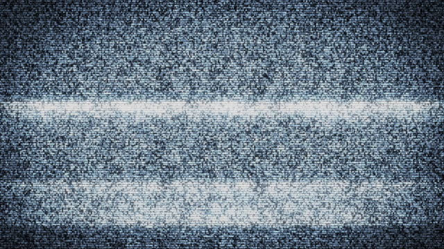 tv static/ad anello - distorto video stock e b–roll