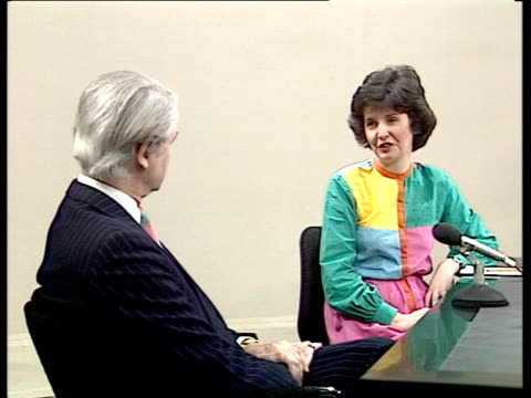 TVam launch / Equity dispute affecting Channel 4 advertising Whitney interview ENGLAND London INT John Whitney interview SOT Talks of the launch of...