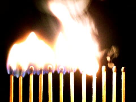 twelve matches ntsc - match lighting equipment stock videos & royalty-free footage