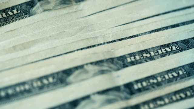 u.s twenty dollar bills close-up details - bundle stock videos & royalty-free footage