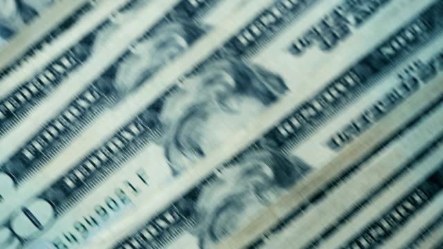 u.s twenty dollar bills fast moving close-up details - money press stock videos and b-roll footage