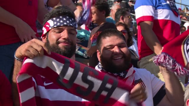 twenty years after hosting the world cup america's domestic soccer scene continues to grow in popularity but still lags behind other major us sports - united states national team stock videos & royalty-free footage