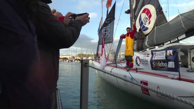 Twentynine skippers are assured of a noisy sendoff when they launch the latest Vendee Globe contest an insane nonstop solo race around the world...