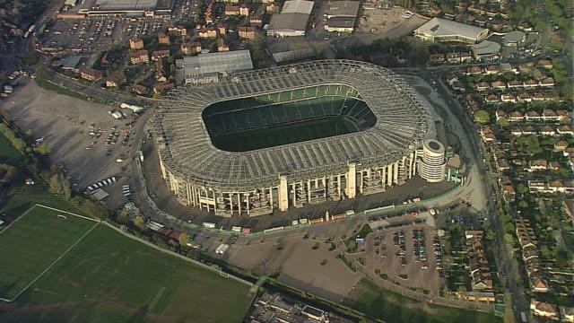 twickenham stadium - stadium stock videos & royalty-free footage